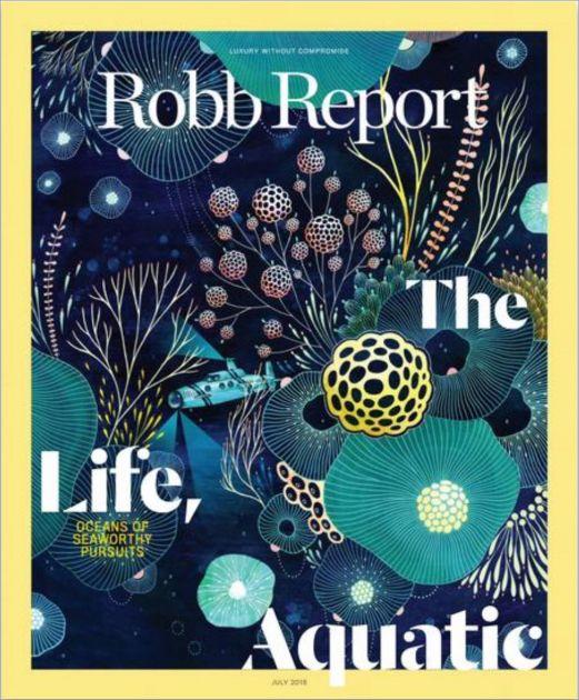 Robb Report - Tomas De Bruyne